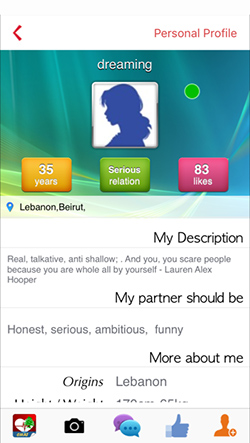lebanese dating application